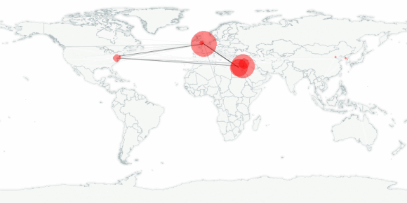 buzztracker map -- 2005-07-23