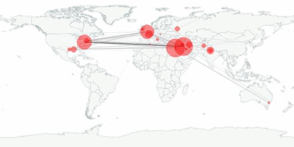 buzztracker map -- 2005-09-27