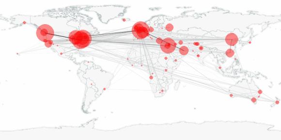 buzztracker map -- 2010-01-09