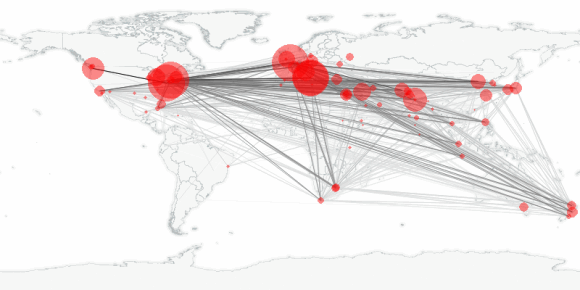 buzztracker map -- 2010-01-17