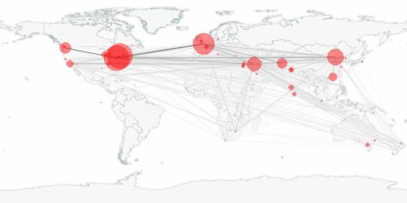buzztracker map -- 2010-01-26