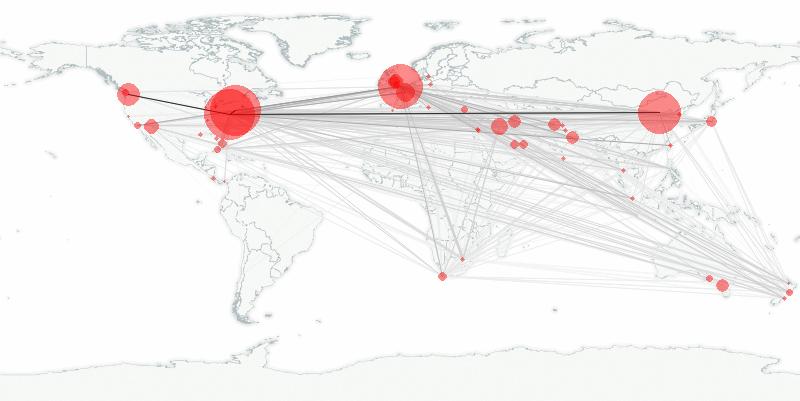 buzztracker map -- 2010-01-30