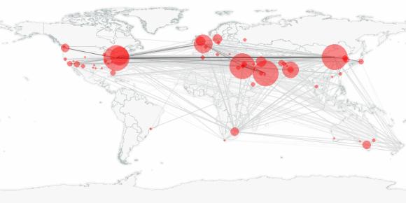 buzztracker map -- 2010-01-31