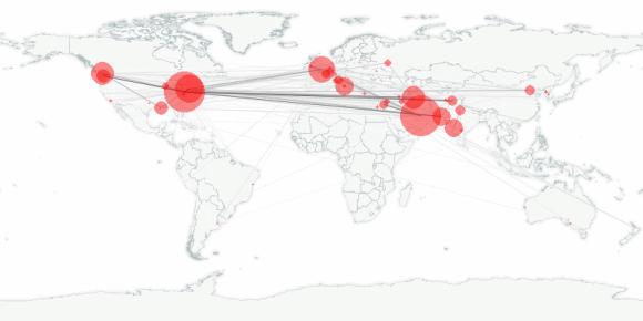 buzztracker map -- 2010-02-16