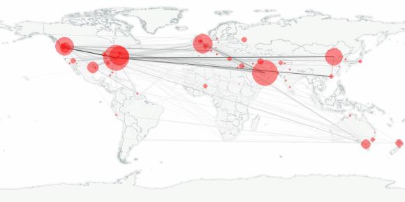 buzztracker map -- 2010-02-19