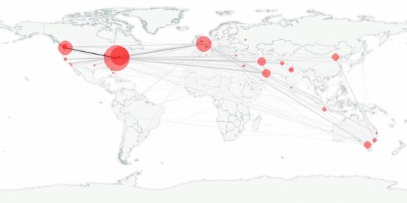 buzztracker map -- 2010-02-23