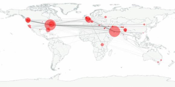 buzztracker map -- 2010-02-25