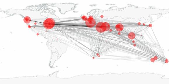 buzztracker map -- 2010-03-13