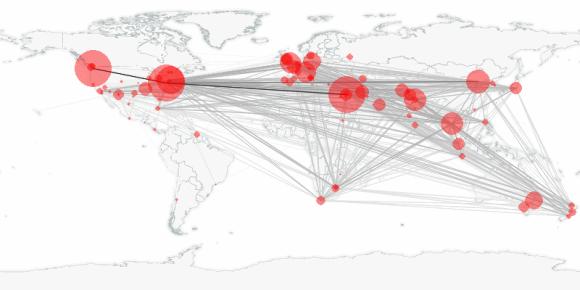 buzztracker map -- 2010-03-14