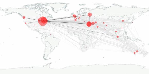 buzztracker map -- 2010-03-19