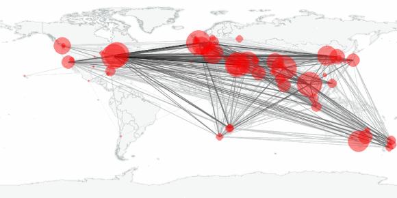 buzztracker map -- 2010-03-27