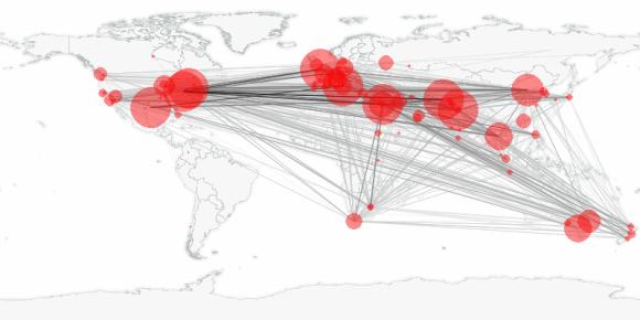 buzztracker map -- 2010-03-28