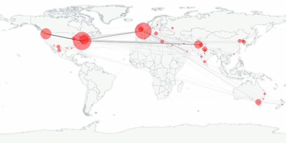 buzztracker map -- 2010-07-19