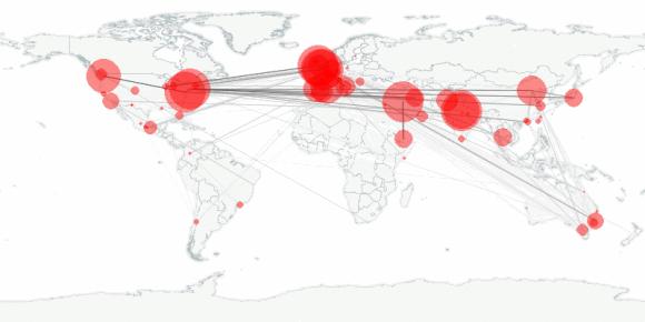 buzztracker map -- 2010-09-19