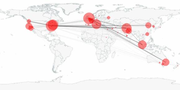 buzztracker map -- 2010-10-22