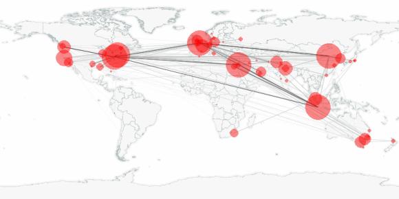 buzztracker map -- 2010-11-09