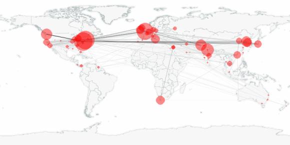 buzztracker map -- 2010-11-22