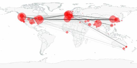buzztracker map -- 2010-11-27