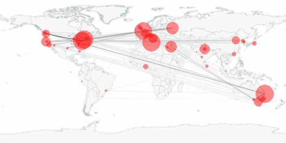 buzztracker map -- 2011-01-14