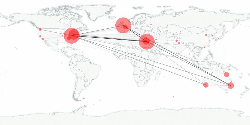 buzztracker map -- 2011-02-01
