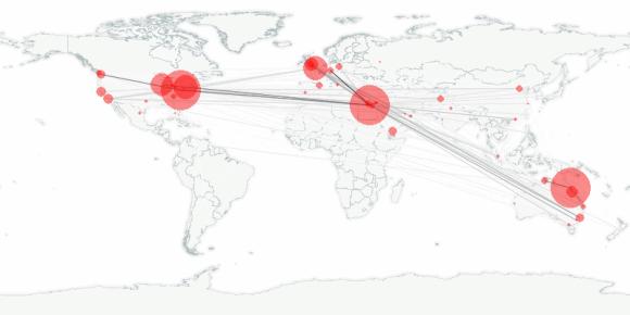 buzztracker map -- 2011-02-02