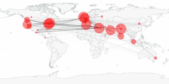 buzztracker map -- 2011-02-13