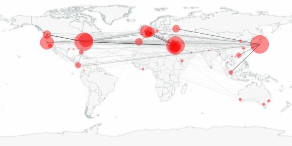 buzztracker map -- 2011-03-24