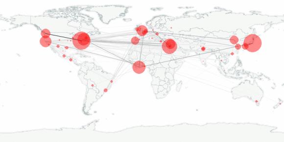 buzztracker map -- 2011-04-07