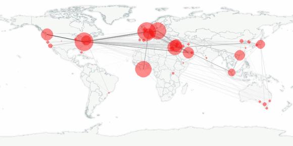 buzztracker map -- 2011-04-14