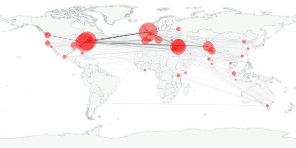 buzztracker map -- 2011-05-06