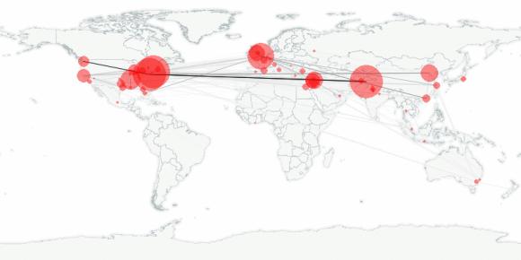 buzztracker map -- 2011-05-09