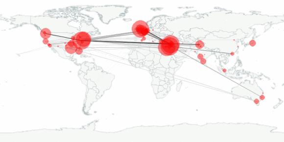 buzztracker map -- 2011-05-14