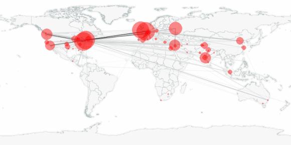 buzztracker map -- 2011-05-18