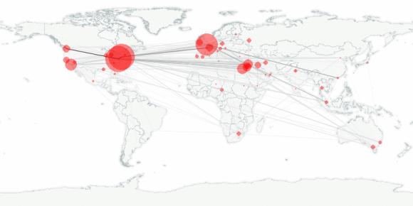 buzztracker map -- 2011-05-19