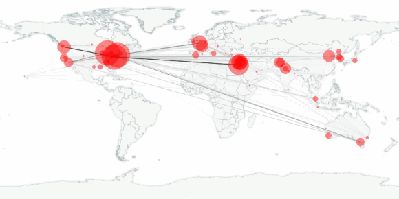 buzztracker map -- 2011-05-20