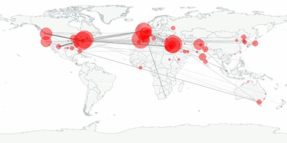 buzztracker map -- 2011-05-21