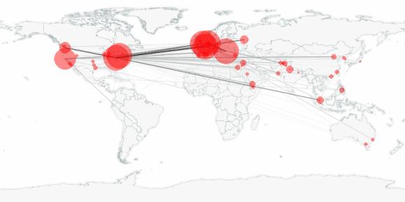 buzztracker map -- 2011-05-26