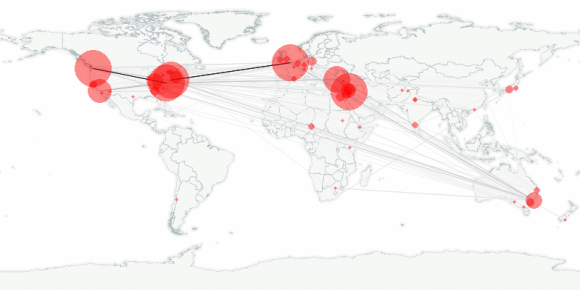 buzztracker map -- 2011-07-15