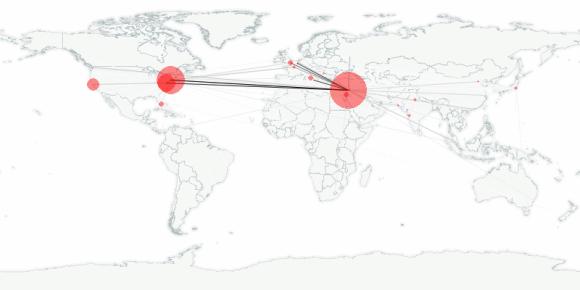 buzztracker map -- 2011-08-23