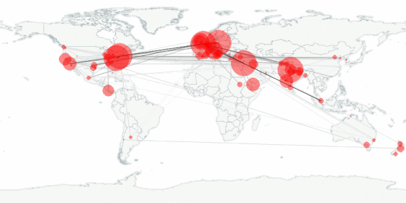 buzztracker map -- 2011-09-18