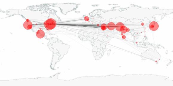 buzztracker map -- 2011-09-21