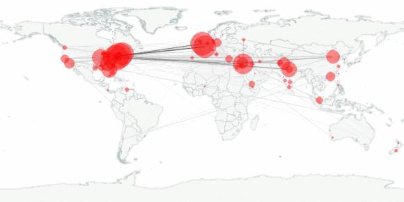 buzztracker map -- 2011-09-29