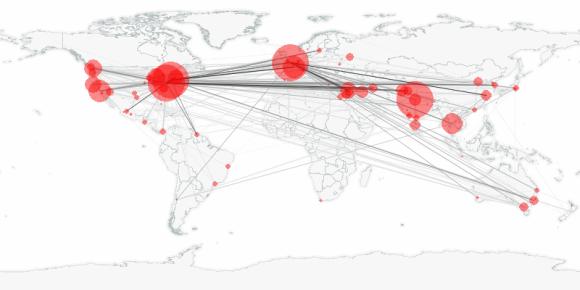 buzztracker map -- 2011-10-13