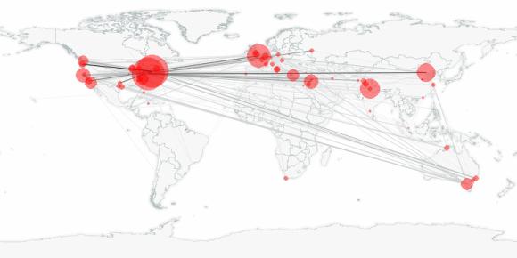 buzztracker map -- 2011-11-17