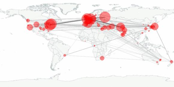 buzztracker map -- 2011-12-05