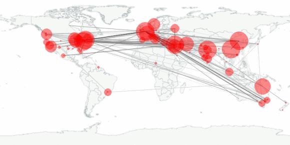 buzztracker map -- 2012-03-07