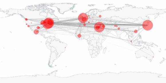 buzztracker map -- 2013-01-16