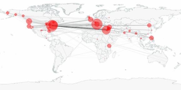 buzztracker map -- 2013-03-03